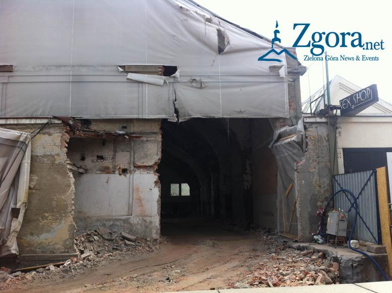 Start of renovation