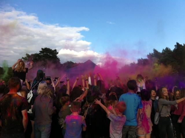 festival of colors zielona gora